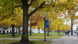 """University of Michigan in Autumn"" by VasenkaPhotography is licensed under CC BY 2.0."