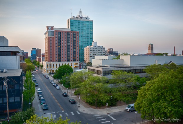 """""""Ann Arbor's Changing Skyline"""" by mrdonduck is licensed under CC BY 2.0."""